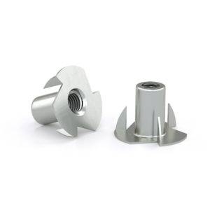 T nut with 3 prongs - Zinc