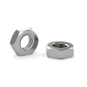 Hex nut for machine screw - Stainless steel