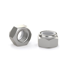 Hex lock nut - Stainless steel