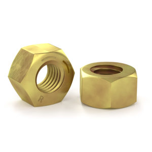 Hex Nut - Grade 8 - Yellow Zinc